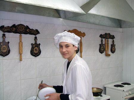 Решетников Данил, группа 274, профессия «повар-кондитер»