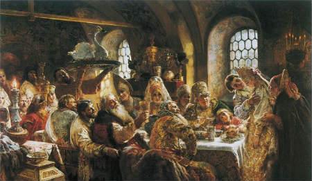 свадебный обряд в Древней Руси